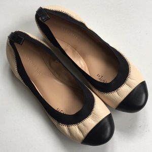 EUC Banana Republic leather flats